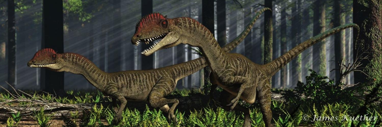 Amazing dinosaurs banner