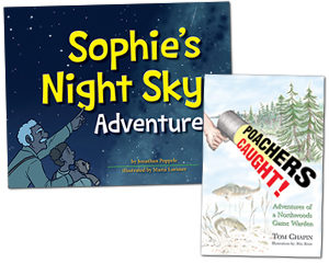 Sophie's Night Sky Adventure and Poachers Caught!
