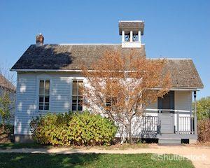 gibbs_museum_schoolhouse_shutterstock_6453538
