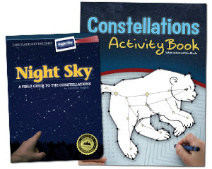 Night Sky and Constellations Activity Book