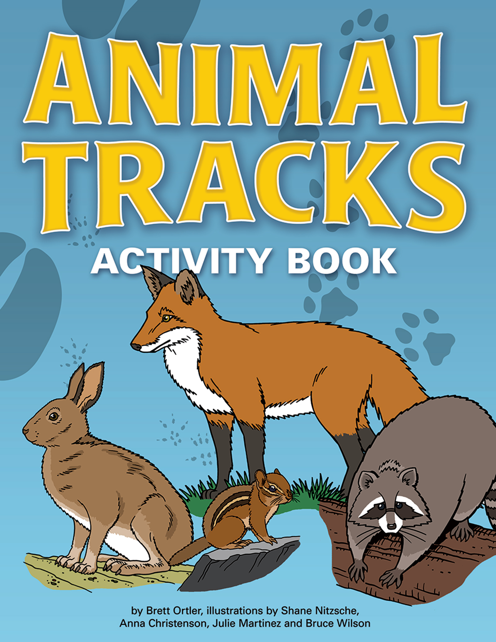 Animal Tracks Activity Book