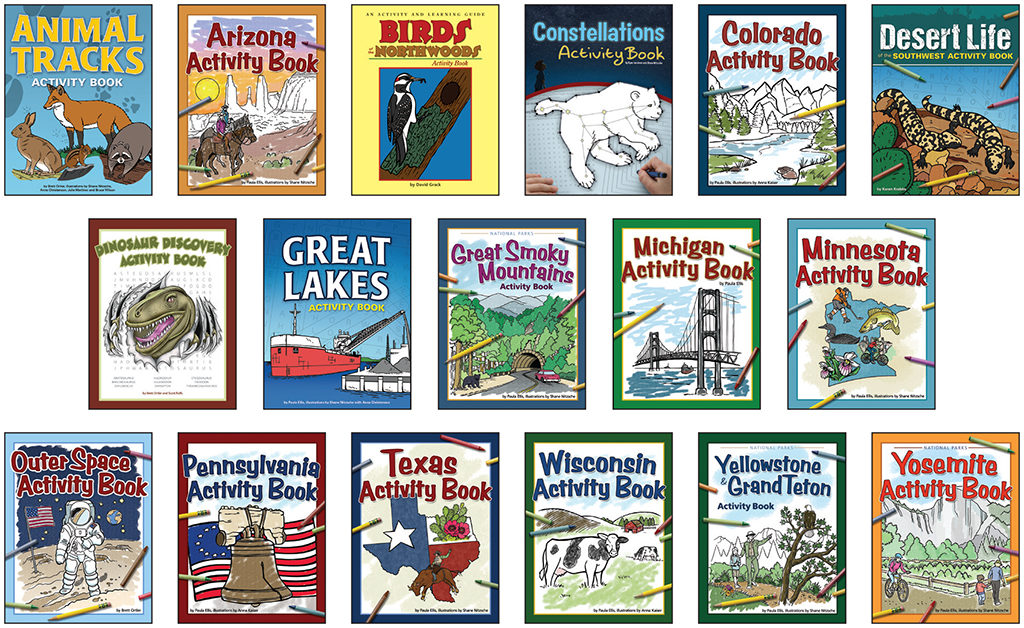 Color and Learn Activity Books
