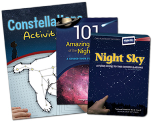 Constellations Activity Book, 101 Amazing Sights of the Night Sky, Night Sky Field Guide