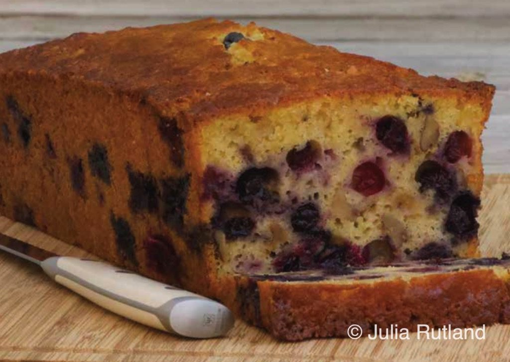blueberry-orange bread