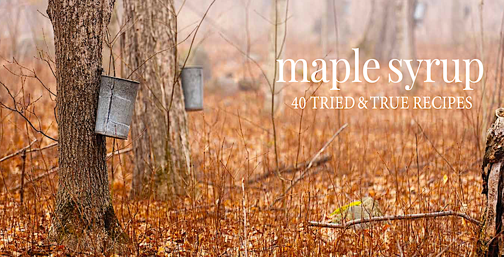 Maple Syrup cookbook banner