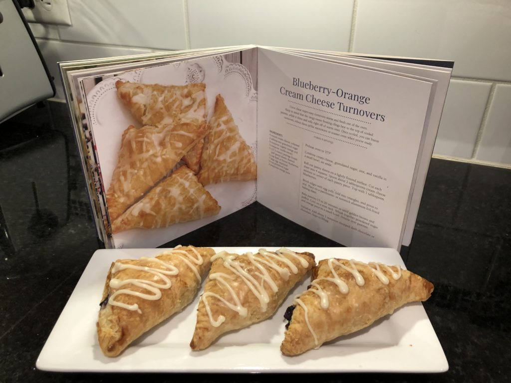 Blueberry-Orange Cream Cheese Turnovers