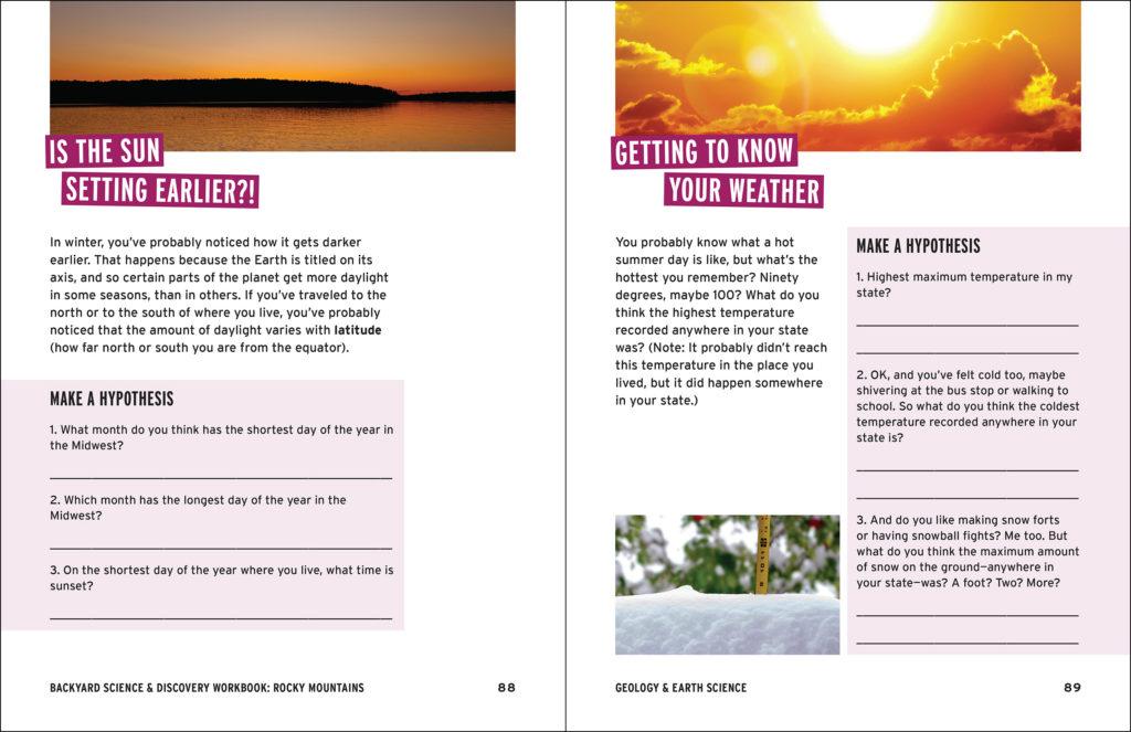 Backyard Science & Discovery Workbook